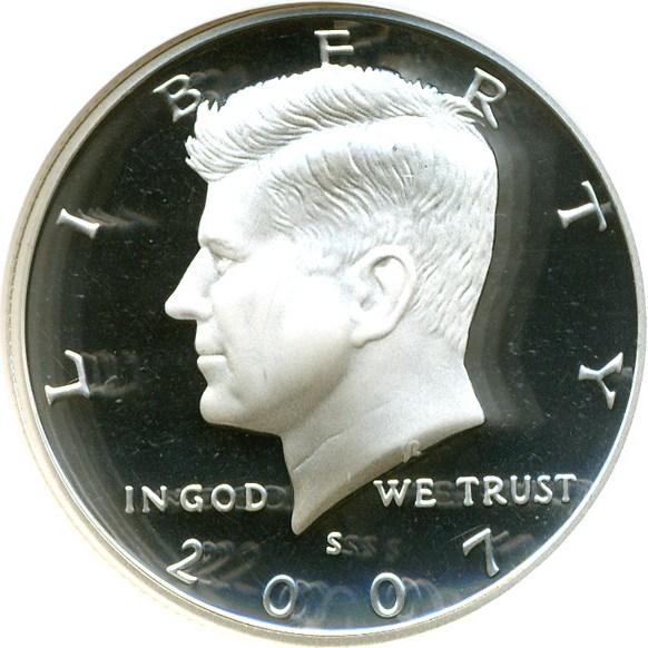 sample image for 2007-S 50c PR DCAM Silver
