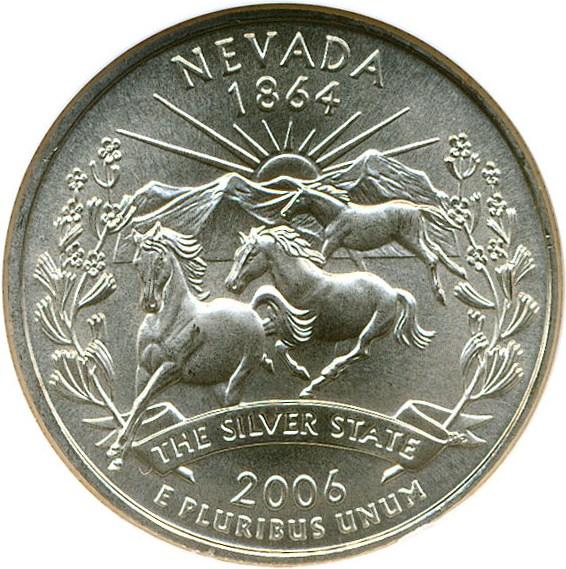 sample image for 2006-P Nevada 25c SP Satin Finish