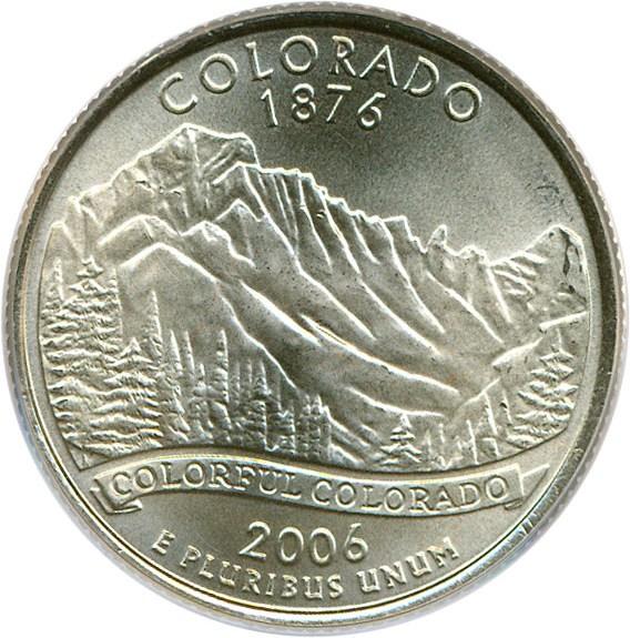 sample image for 2006-D Colorado 25c SP Satin Finish