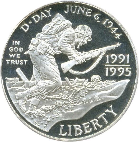 sample image for 1991-95-W World War II $1  PR DCAM