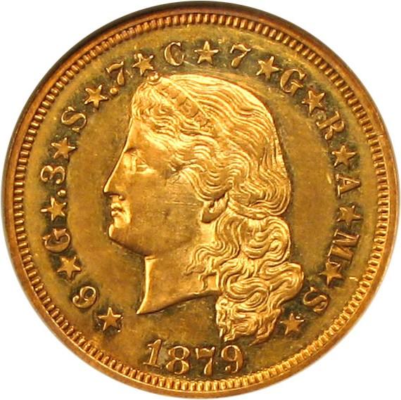 sample image for 1879 Stella $4  PR Flowing Hair