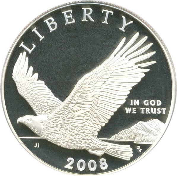 sample image for 2008-P Bald Eagle $1  PR DCAM