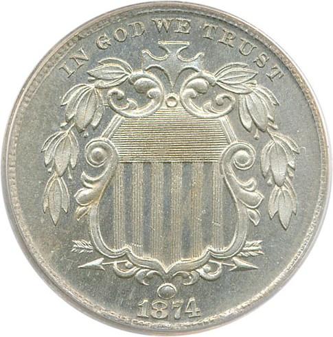 sample image for 1874 5c PR