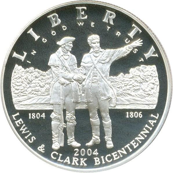 sample image for 2004-P Lewis & Clark $1  PR DCAM
