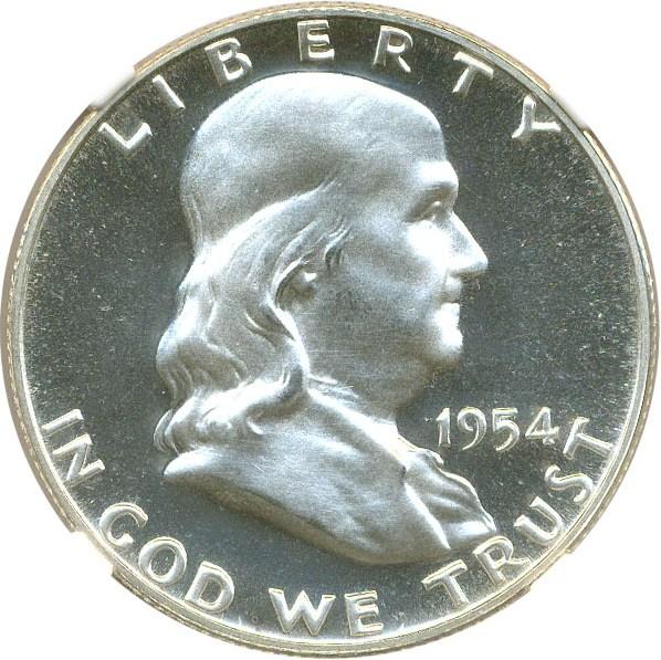 sample image for 1954 50c PR CAM