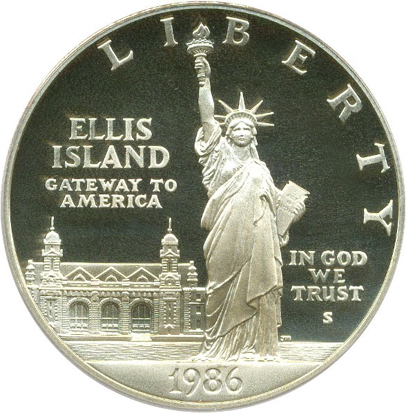 sample image for 1986-S Statue Liberty $1  PR DCAM