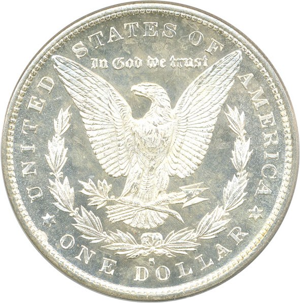 sample image for 1879-S $1  MS DMPL Reverse of 1879