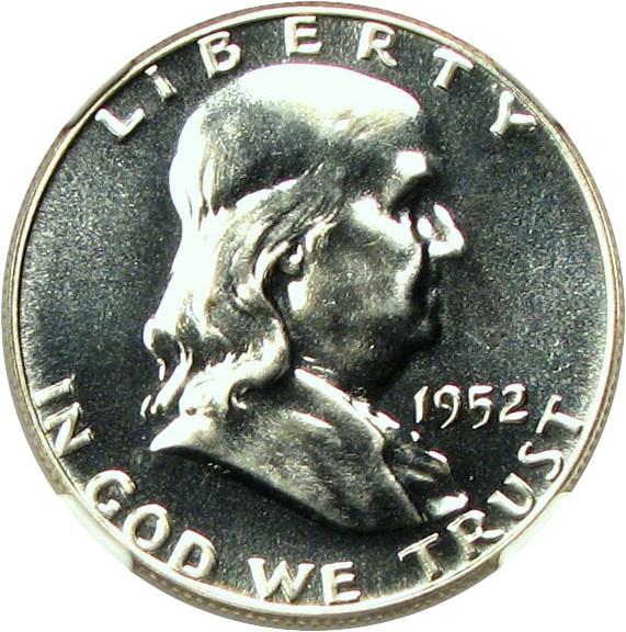 sample image for 1952 50c PR