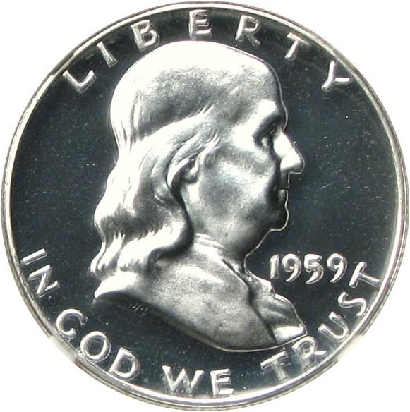 sample image for 1959 50c PR CAM
