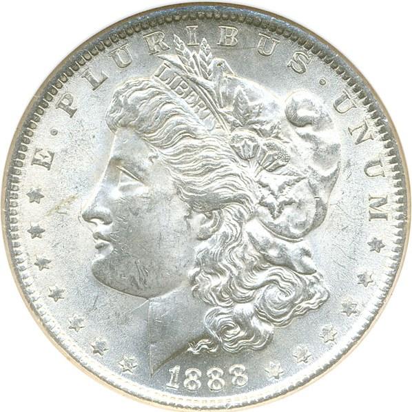 sample image for 1888 $1  MS VAM-11, Doubled Ear
