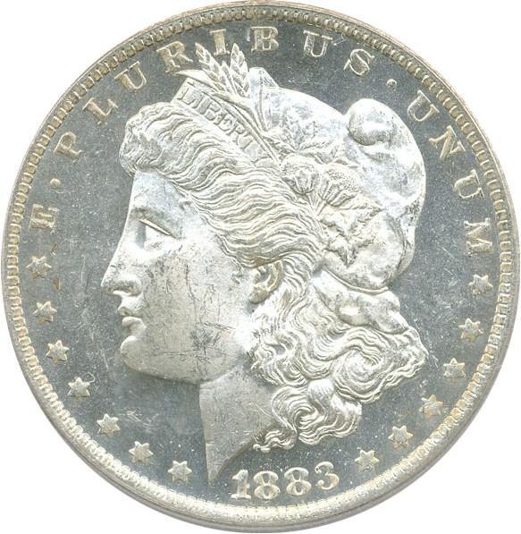 sample image for 1883-O $1  MS DMPL