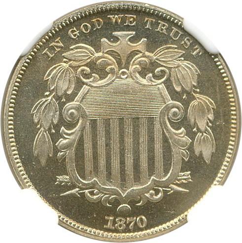 sample image for 1870 5c PR CAM