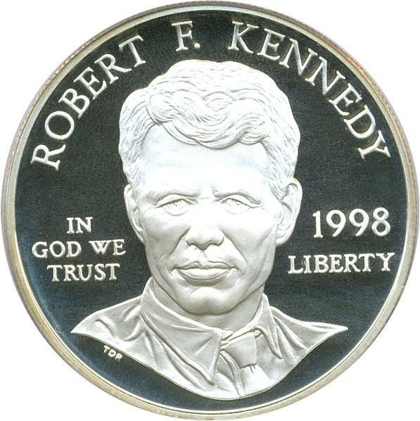sample image for 1998-S Robert F. Kennedy $1  PR DCAM