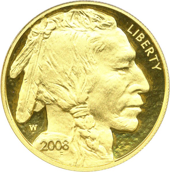 sample image for 2008-W American Buffalo $50  PR DCAM