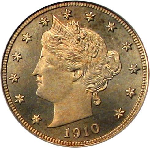 sample image for 1910 5c PR