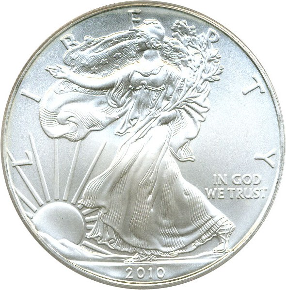 sample image for 2010 Silver Eagle $1  MS