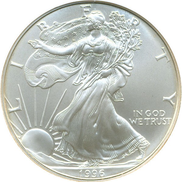 sample image for 1996 Silver Eagle $1  MS