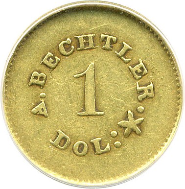 sample image for A.Becht G$1 27 GR, 21C, PE (K-24)