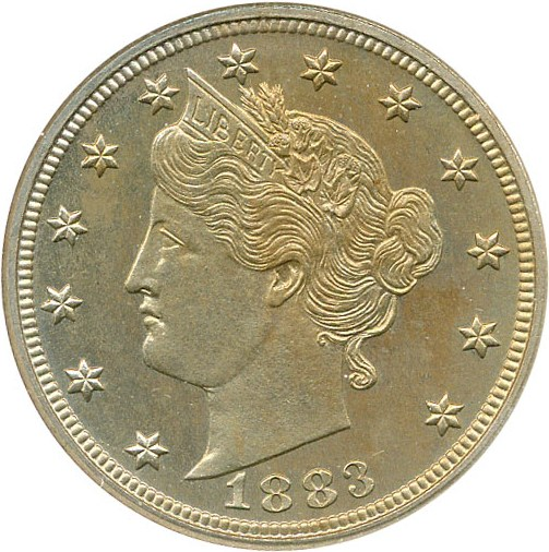 sample image for 1883 5c PR No Cents