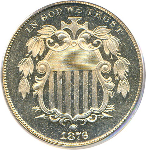 sample image for 1876 5c PR