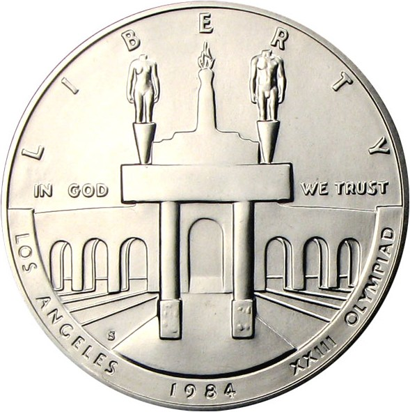 sample image for 1984-S Olympic $1  MS