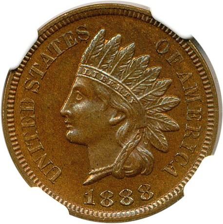 sample image for 1888 1c PR BN