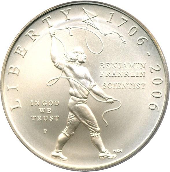 sample image for 2006-P Ben Franklin-Scientist $1  MS
