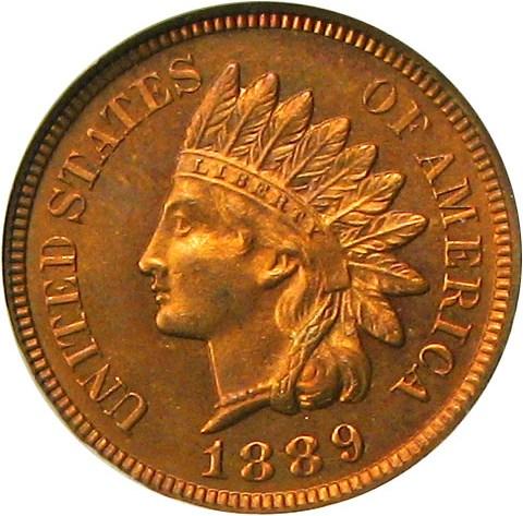 sample image for 1889 1c PR RB