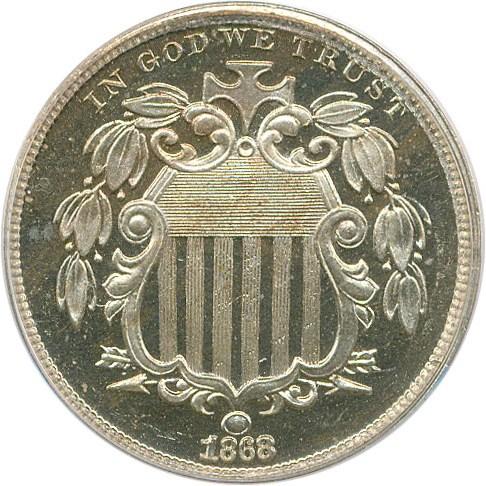 sample image for 1868 5c PR CAM