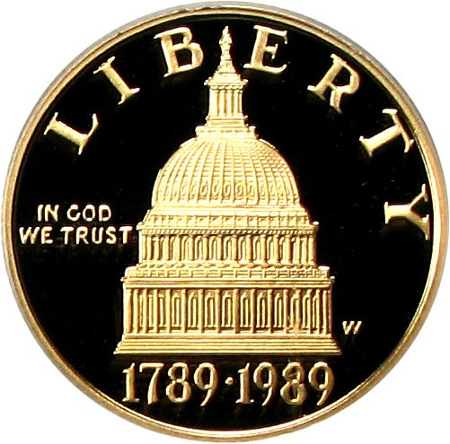 sample image for 1989-W Congress $5  PR DCAM