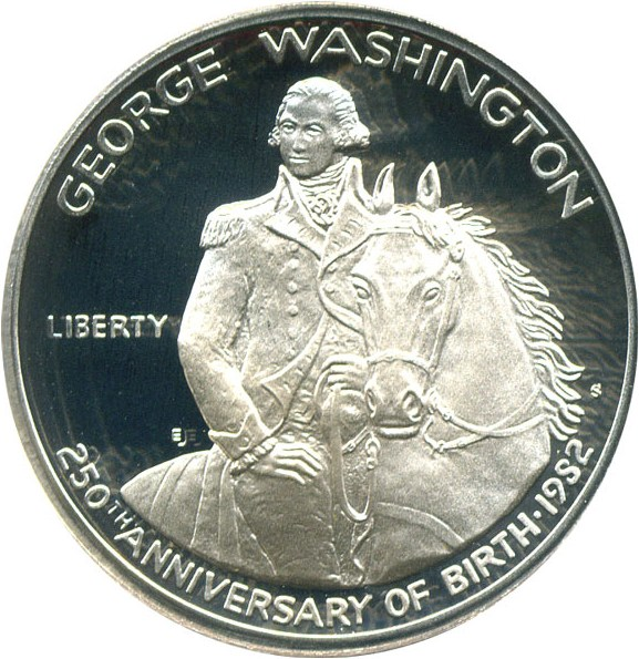 sample image for 1982-S Washington 50c PR DCAM