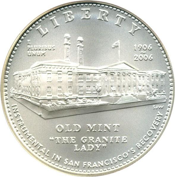 sample image for 2006-S San Francisco Old Mint $1  MS