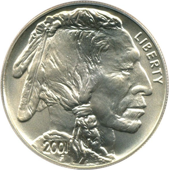 sample image for 2001-D Buffalo $1  MS