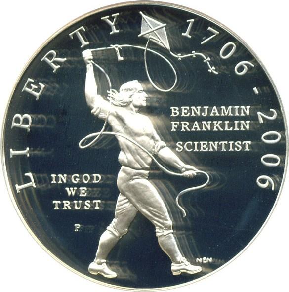sample image for 2006-P Ben Franklin-Scientist $1  PR DCAM