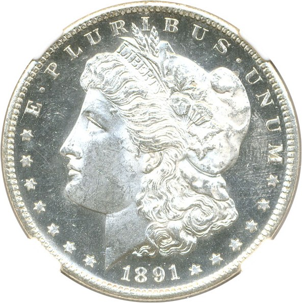 sample image for 1891-S $1  MS DMPL