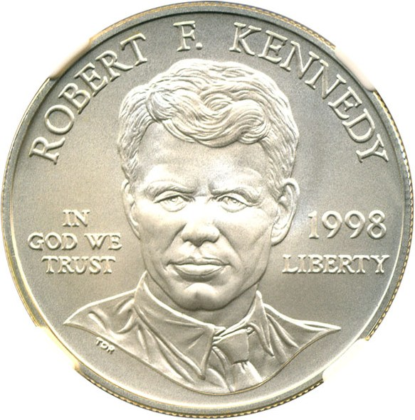 sample image for 1998-S Robert F. Kennedy $1  MS