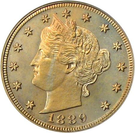 sample image for 1889 5c PR