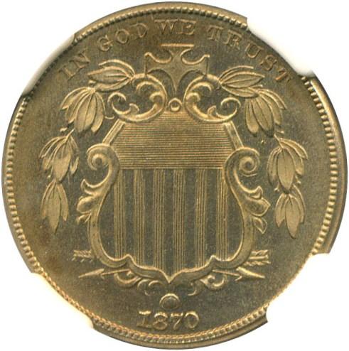 sample image for 1870 5c PR