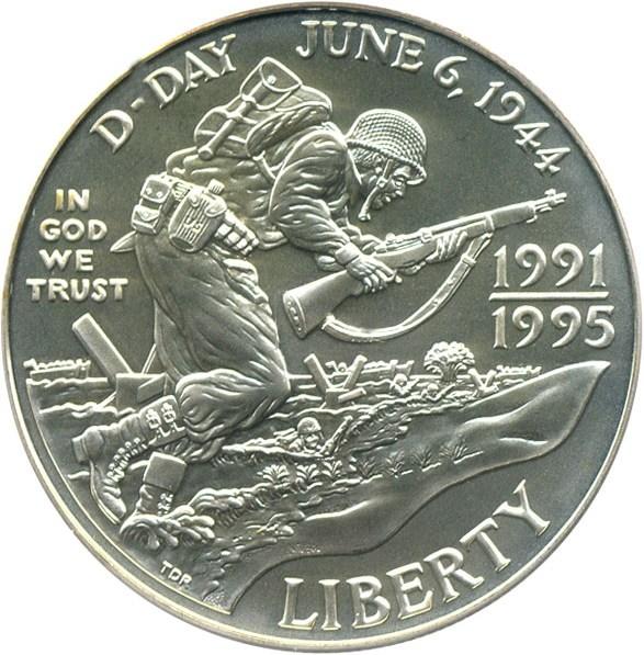 sample image for 1991-95-D World War II $1  MS