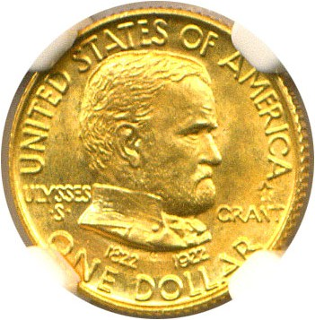 sample image for 1922 $1 Grant Star