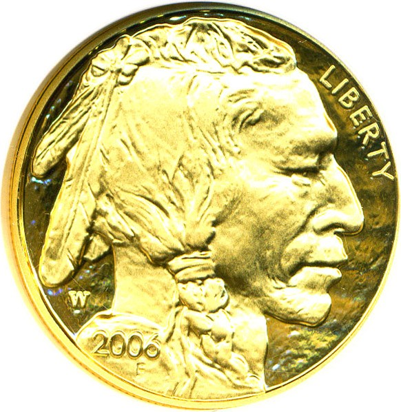 sample image for 2006-W American Buffalo $50  PR DCAM