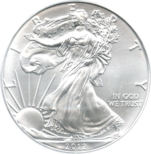 sample image for 2012-(S) Silver Eagle $1  MS