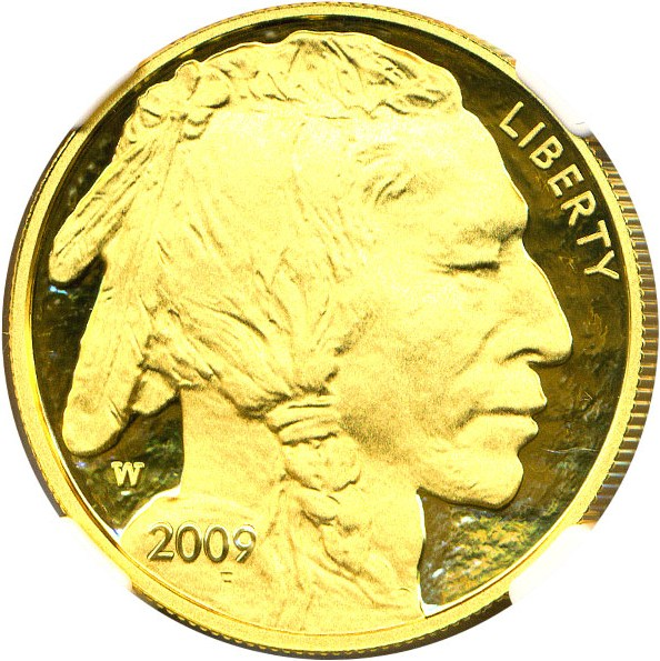 sample image for 2009-W American Buffalo $50  PR DCAM