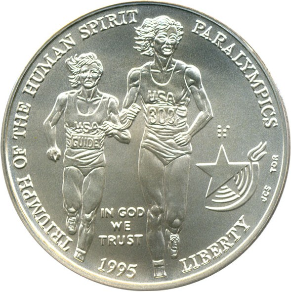 sample image for 1995-D Paralympics Blind Runner $1  MS