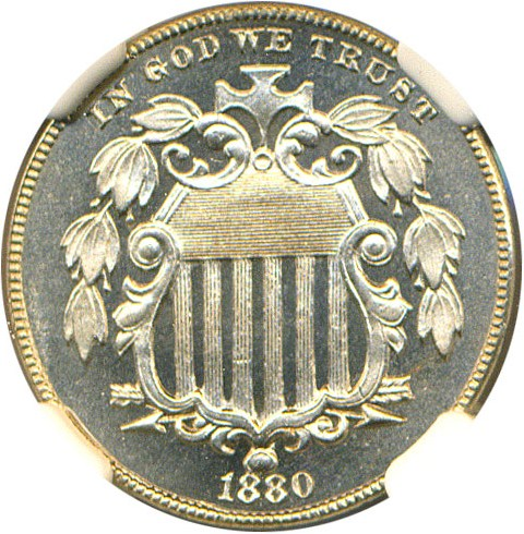 sample image for 1880 5c PR