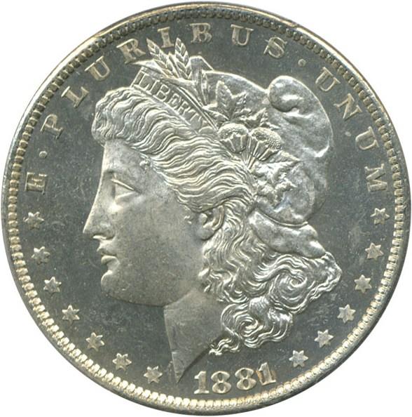 sample image for 1881-O $1  MS DMPL