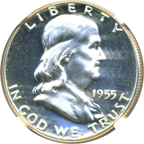 sample image for 1955 50c PR CAM