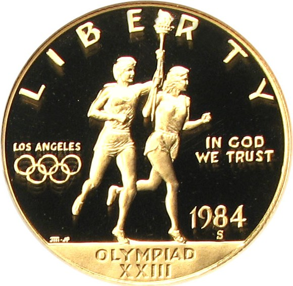 sample image for 1984-S Olympic $10  PR DCAM