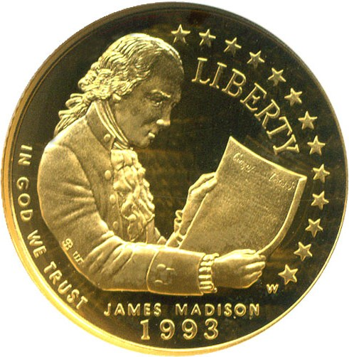 sample image for 1993-W Bill of Rights $5  PR DCAM