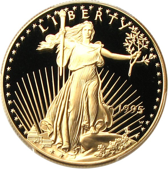 sample image for 1995-W Gold Eagle $50  PR DCAM
